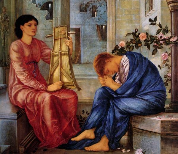 Burne Jones The Lament 1865 66
